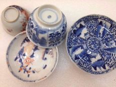 Cup and Saucers - China - 18th &  19th Century