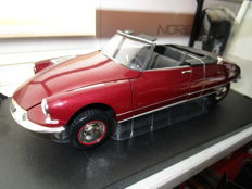 Norev - Scale 1/18 - Citroën DS Cabriolet - Red