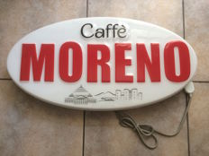 """Moreno"" coffee sign, 2000"