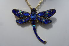Kenneth Jay Lane, dragonfly brooch
