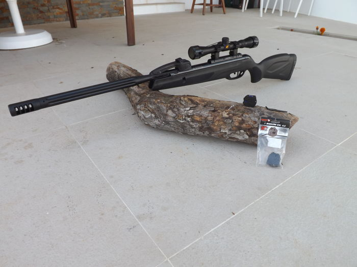 Gamo Maxi Whisper x 10, silencer system & SWA technology ,Air Rifle 4,5  ( 177), Adjustable scope with 4 x 32 zoom , - Catawiki