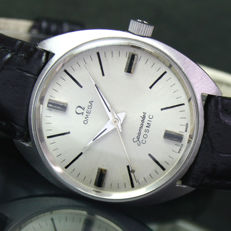 Omega Seamaster Cosmic Winding Steel Mens Watch