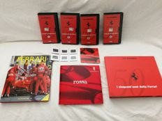 Ferrari - Large and rare collection of Ferrari 50 years - Pininfarina slides, CD and brochures (Italian/English) - No. 4 unpublished videotapes - the entire lot is limited edition, discontinued