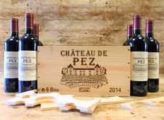 2014 Chateau de Pez, Saint-Estephe - 6 Bottles in OWC