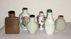 Collection of antique Snuff Bottles - China - 1st half of 20th century