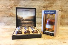 Glenrothes Giftbox with 3 bottles and tasting glasses in luxury giftbox + Glenrothes Select Reserve in showbox