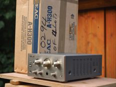 TEAC A-H300 stereo amplifier with strikingly compact design New in box with unused remote and manual