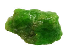 Natural, quality green tsavorite garnet gemstone raw rough - 20,02 x 14,19 x 10,32mm - 19,75 ct