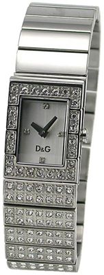 DOLCE & GABBANA, D&G, Ladies watch with Swarovski from 2005, new