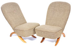 Theo Ruth for Artifort – Pair of Congo lounge chairs