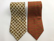 Hermes Ties - Lot of 2