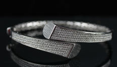 Ladies Bracelet with Diamonds total 2.56 ct
