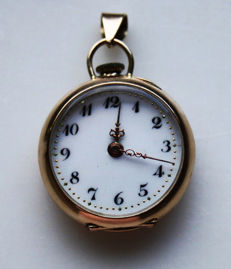 Ladies' pocket watch circa 1900