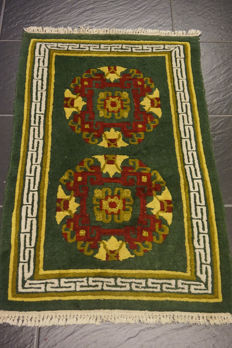 Beautiful modern Oriental Nepal Tibet 60 x 95 cm made in Nepal carpet Tappeto Tapis rug old modern Tapijt