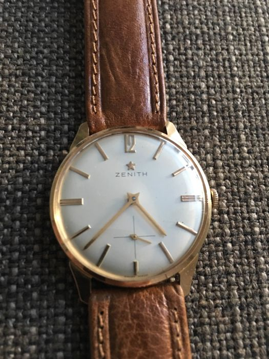 ZENITH Stellina ultra slim men's watch from the 1950s