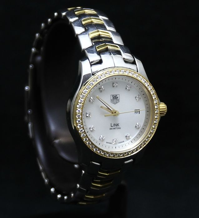 Tag Heuer Link 63 Diamonds – Top Wesselton F-G – wjf1354 – ladie's – 2011-present