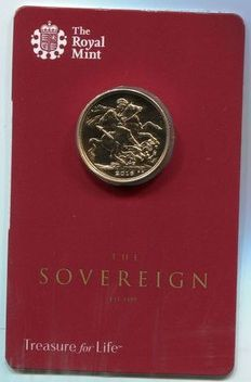 United Kingdom - Sovereign 2016 - Elizabeth II - gold