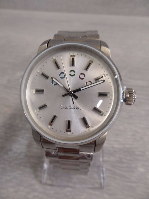 Paul Smith - P10025 - Silver dial - Men's wristwatch - New - 2017