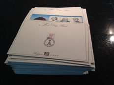 Belgium 1999/2009 – Collection of First Day sheets