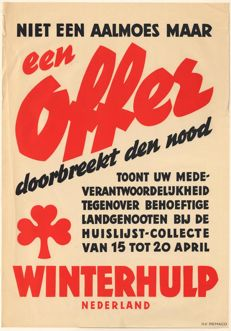 Anonymous - Winterhulp Nederland - ca. 1943