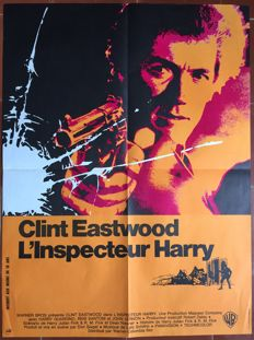 Anonymous - L'inspecteur Harry / Dirty Harry (Clint Eastwood) - 1971
