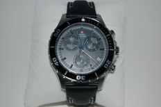 Swiss Military Chronograph – men's watch – never worn