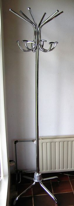 Unknown designer - Steel tube hatstand, 1950s, Germany
