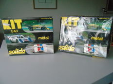 Solido - Scale 1/43 - 2 x Kit  Porche 917- Reference 18K