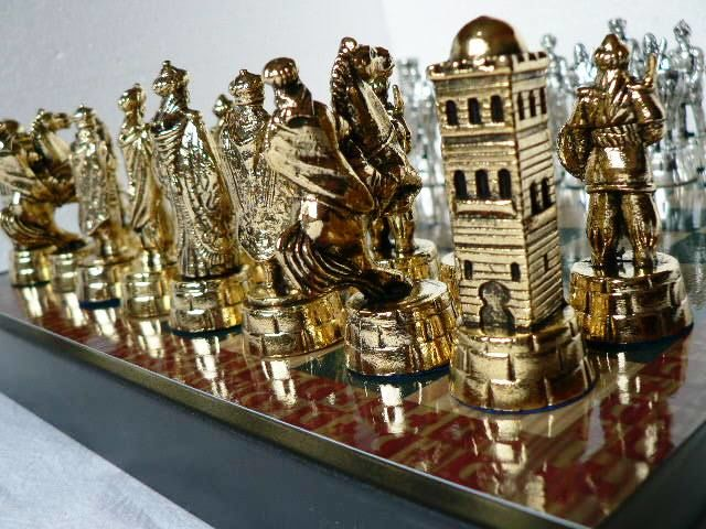 "Chess: ""Arabs vs Templars"""