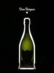 Dom Perignon Champagne  Led Showcase