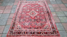 Very Beautiful Old Hand-knotted Persian - Hamadan 200cm x 145cm