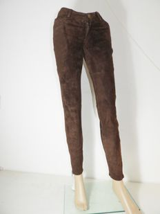 Michael Kors - brown suede designer trousers, new with labels KOF@