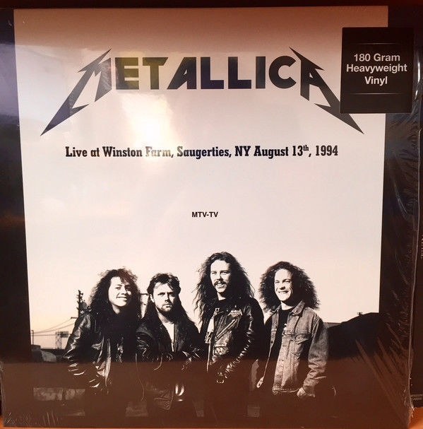 Lots off 3 Live Concerts of Metallica, 2 Lp Live at Winston Farm, Saugerties, NY August 13th, 1994, 2 Lp Live At The Playhouse Theatre Winnepeg December 13 1986,  Live At Hammersmith Odeon, London. September 21th 1986