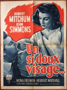 Anonymous - Un si doux visage / Angel Face (Otto Preminger, Robert Mitchum) - 1953
