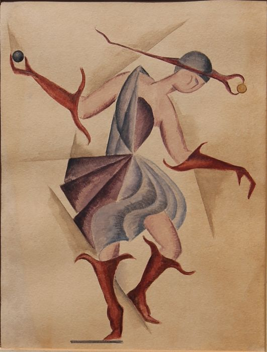 Anonyme/ Unknown - (20th century) - The dancer/ Costume study