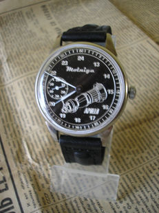 Molnija russian mariage watch from 1976