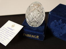 Faberge Glass - Imperial Egg Collection - numbered - signed - engraved crystal