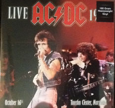 Lots off 4 live Albums off AC/DC on 180 Grams Vinyl, 2 Lp Live 1979 - Towson Center, Maryland, Live At Agora Ballroom, Cleveland, August 22, 1977, Paradise Theater Boston MA, August 21st 1978, Live At Old Waldorf In San Francisco September 3, 1977. KSGA-F