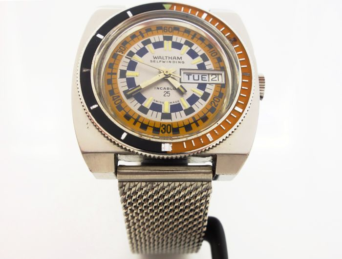 Waltham - Diver - 1748Z.8.8 - Men - 1970-1979