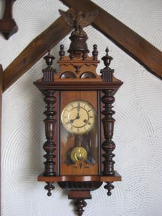 Junghans regulator clock, 1900