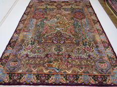 Wonderfully beautiful Persian picture rug, Kashmar/Iran 398 x 300 cm, paradise-nature pattern unique piece ***top professional organic cleaning*** NEW AND NEVER USED