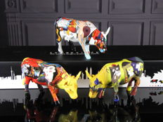 CowParade Collectables - Artpack 3 Cows  - PiCowsso