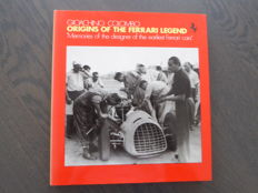 Book; Gioachino Colombo - Origins of the Ferrari legend - 1987