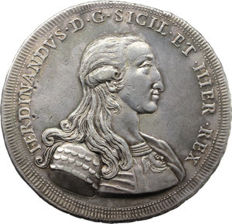 Kingdom of Sicily - Oncia of 30 Tarì, 1791, type 2 - Ferdinand III of Bourbon - Silver