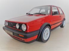 Otto Mobile - Scale 1/12 - VW Golf II Gti G60 - Red