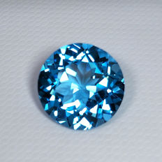 Swiss Blue Topaz - 6.44 ct