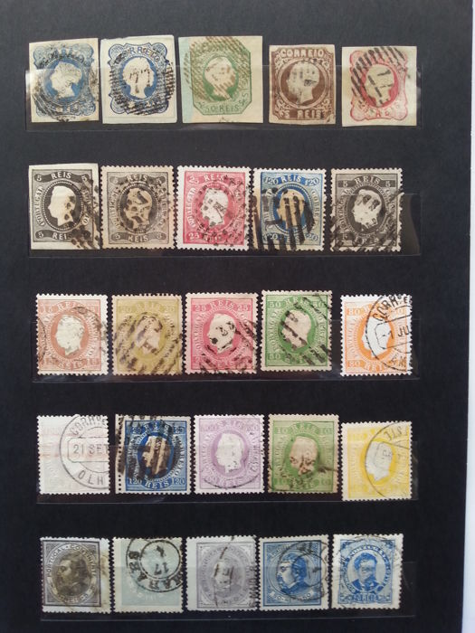 Portugal 1853/1882 – Stamp Selection.
