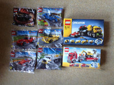 Shell Racers polybags - 30195 + 40190 + 40191 + 40192 + 40193 +40196 + 4891 + 310056