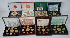 World - Pattern sets 2003/2005 from various European countries (8 different sets)