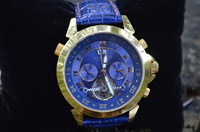 Calvaneo 1583   - Estonia Luxury Blue Gold  - CM - ASG-07 Astoria - Unisex - 2011-present